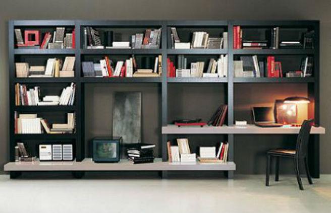 Decoraci n con libreros me lo dijo lola - Muebles tv originales ...