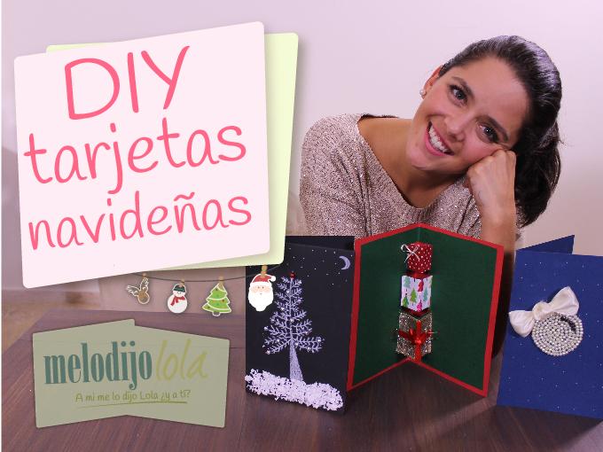 Tarjetas originales y creativas para navidad me lo dijo lola - Ideas originales para postales de navidad ...