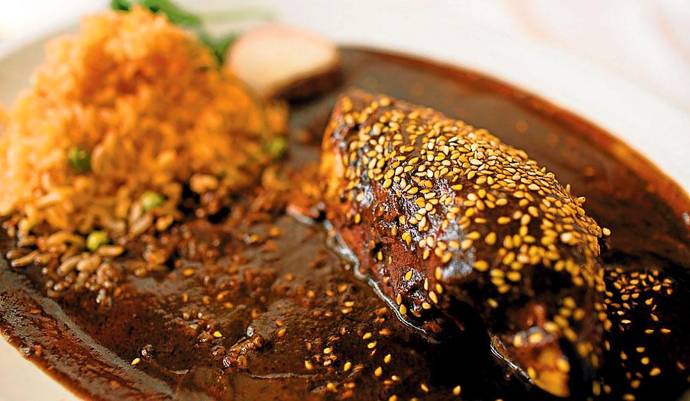 Mole poblano. La gastronomía de Puebla le permite ser parte de Delice Network