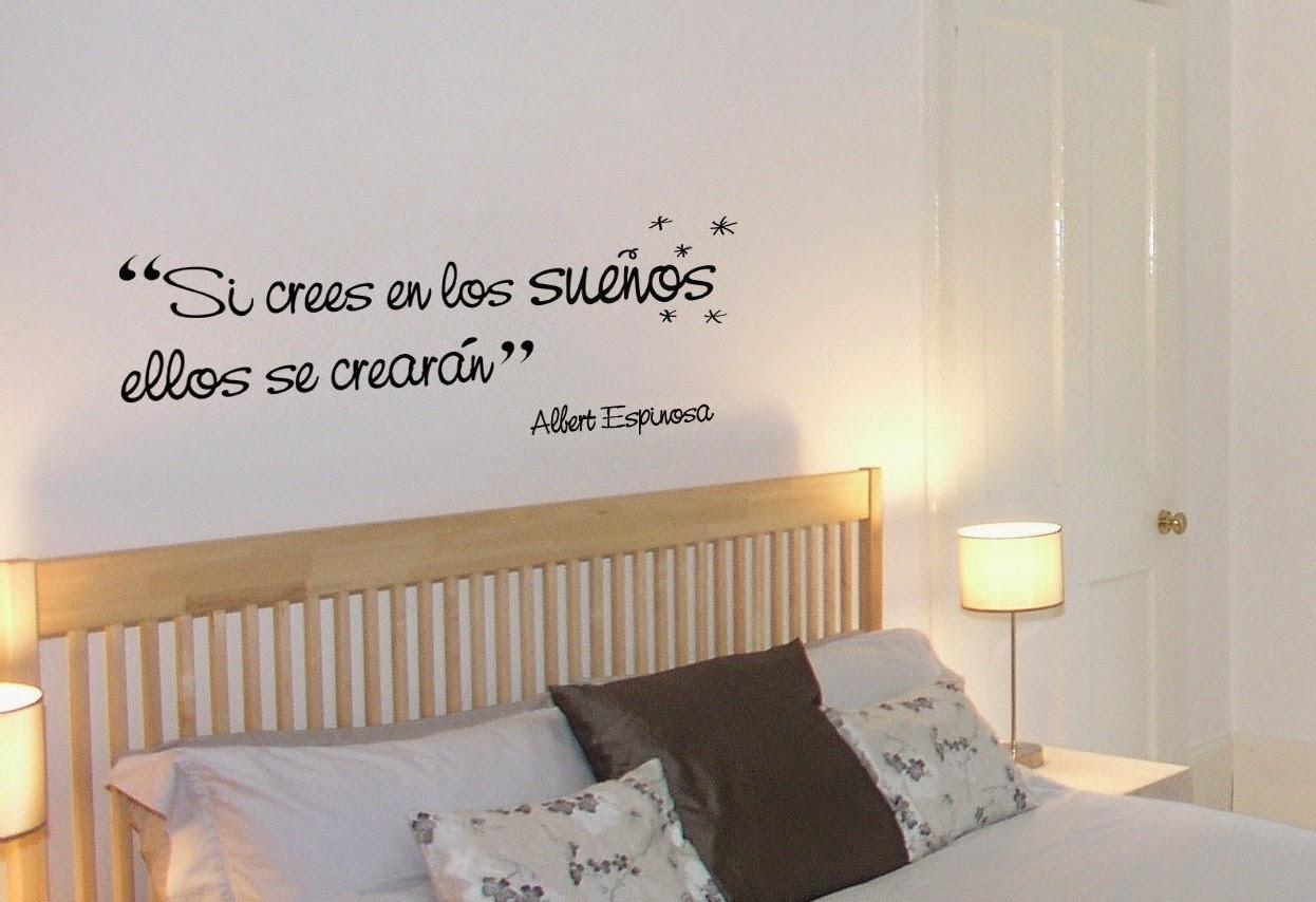 Decora tu casa con palabras me lo dijo lola for Como decorar la pared de mi habitacion