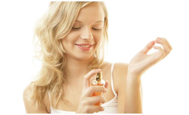 6 zonas en las que debes ponerte el perfume
