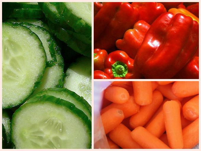 Vegetales para bajar de peso