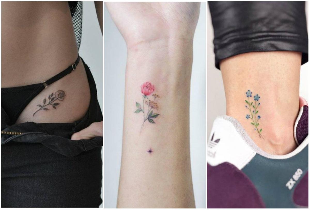 Tatuajes Delicados Y Rom 225 Nticos Para Recibir La Primavera Me Lo Dijo Lola