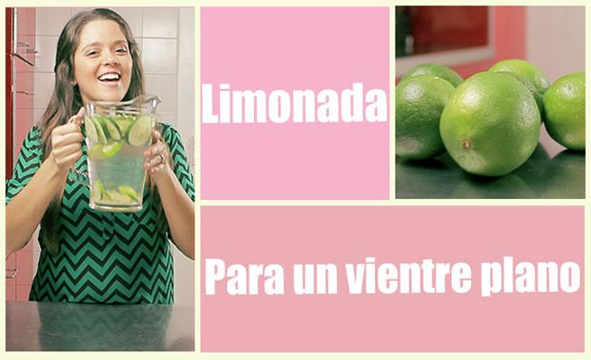 Una limonada para bajar de peso