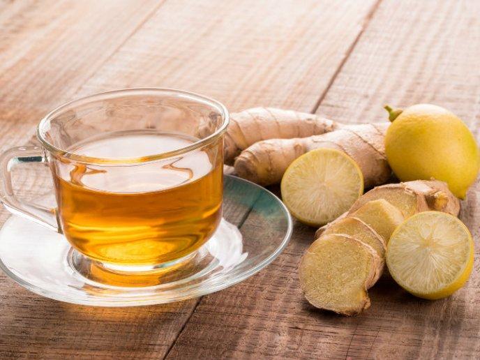 receta para descender de inquietud con jengibre y limon