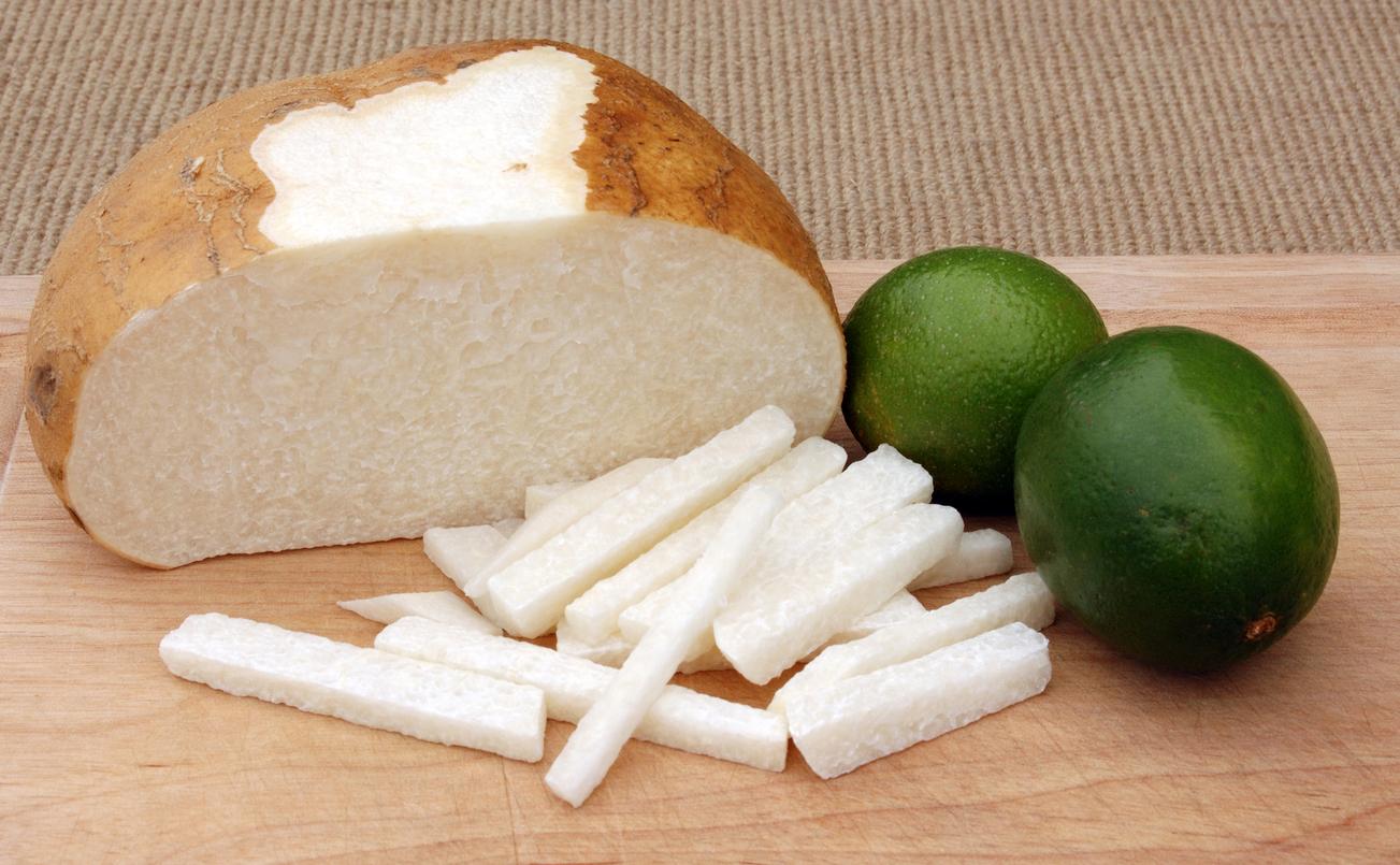Jícama rebanada - snacks