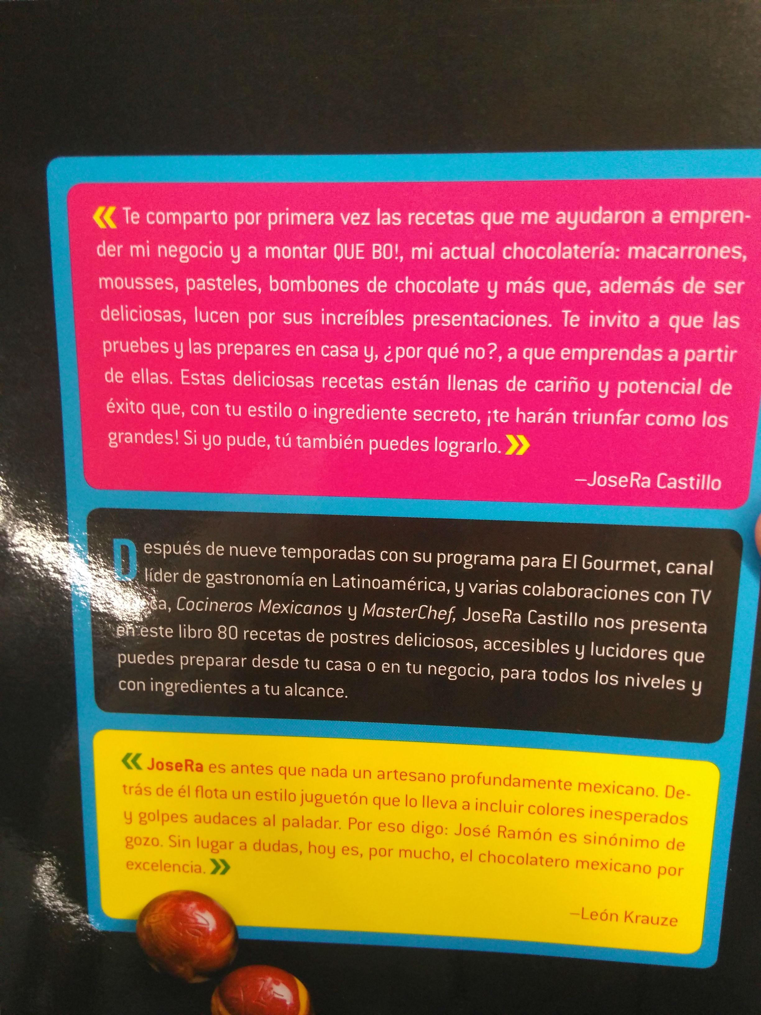 JoseRa Castillo Postres con cariño