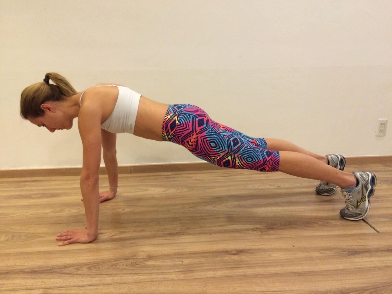 ejercicios para eliminar los brazos flacidos
