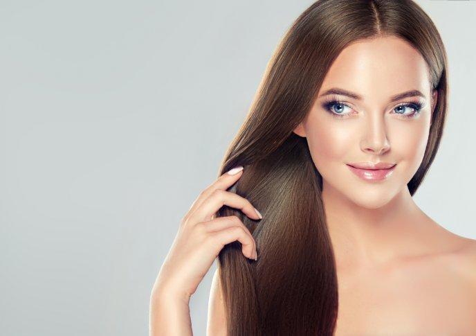 Limpia el cabello con vinagre
