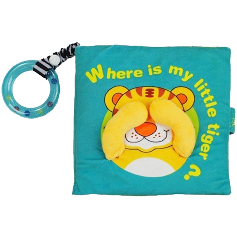 Libro Where is my Little tiger?