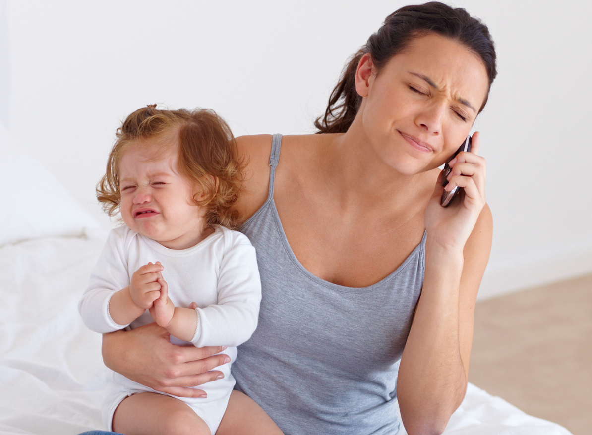 Hay que evitar el burn out materno