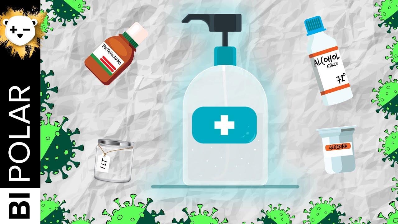 Cómo hacer gel antibacterial Foto: *Bipolar