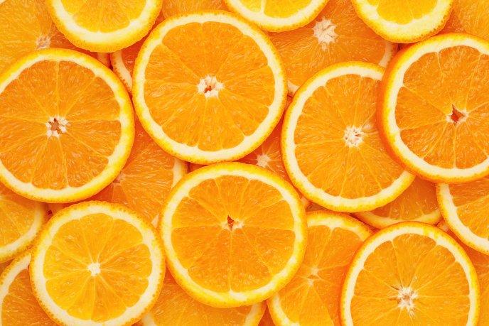 Naranja contiene calcio