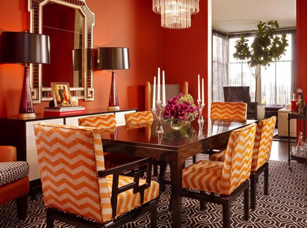 El naranja puro es también un color relacionado con la vitalidad