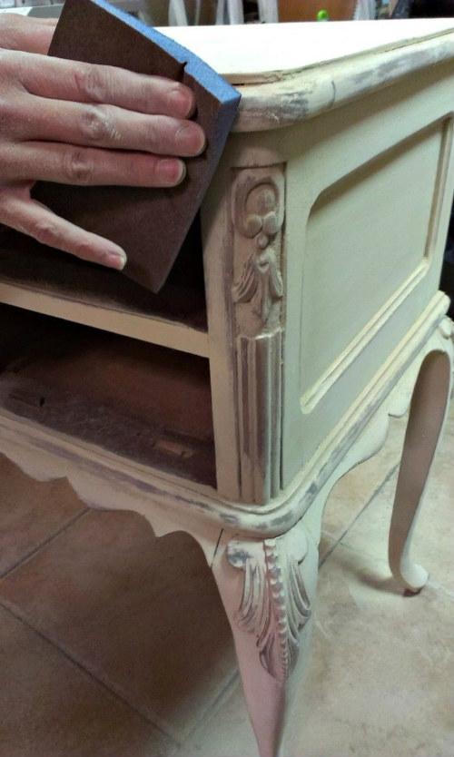 Diy haz tu propio mueble vintage me lo dijo lola - Decapar muebles antiguos ...