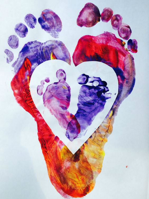 Pies de corazòn