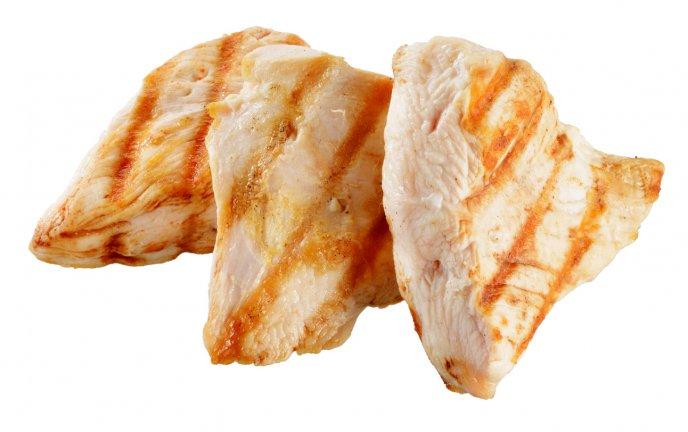 Pollo sin grasa