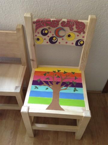 Muebles pintados a mano me lo dijo lola for Muebles originales para ninos
