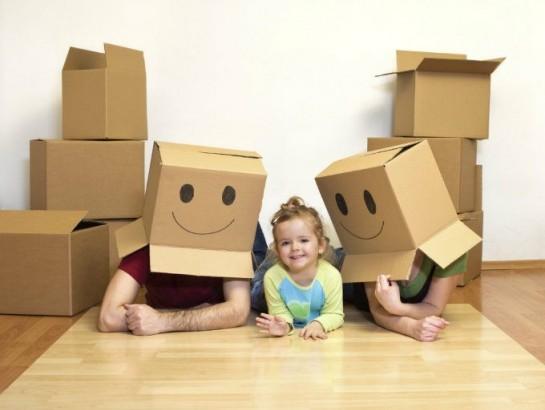 El cambio de casa y los efectos en un niño