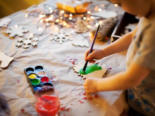 5 ideas navideñas para hacer con los niños