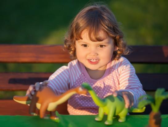 Niños obsesionados con los dinosaurios son más inteligentes