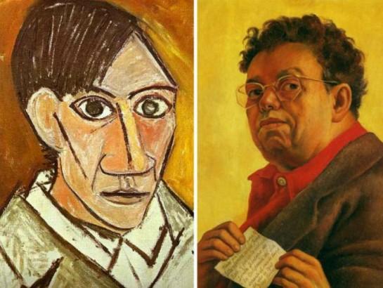 Picasso y Rivera: Dos grandes juntos
