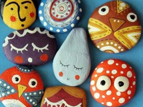 Pintar piedras me lo dijo lola for Pintura para pintar piedras