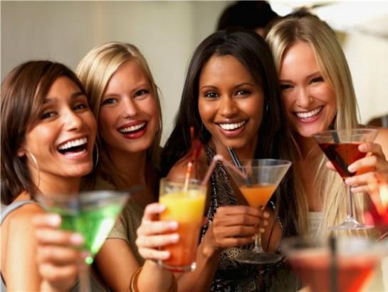 ¡La ventaja que tiene el tomar un drink!