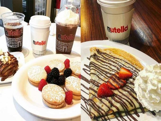 Todo está endulzado con Nutella.Fotografía: Nutella Café