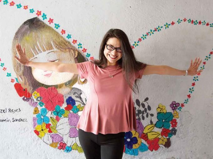 La sede de Soñando Mariposas está en Río Churubusco número 376. Foto: Paola Hidalgo