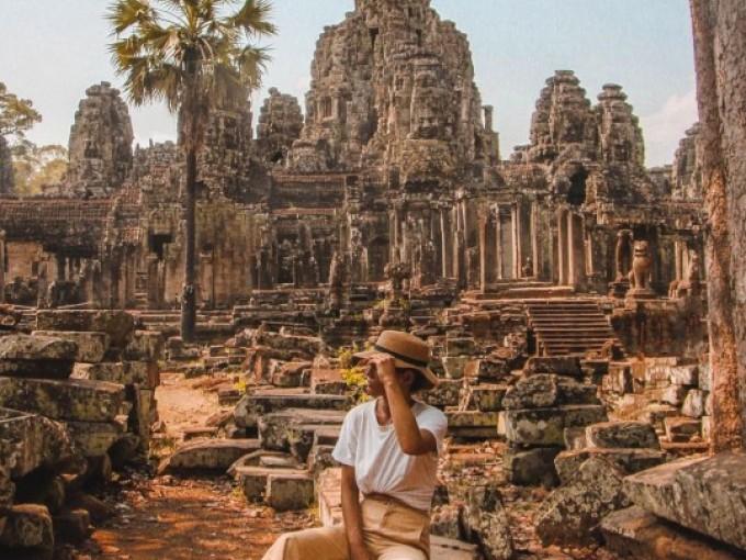 Camboya. Además de los templos antiguos, explora las exuberantes junglas, las impresionantes cascadas y las relajadas playas hippies del sur.