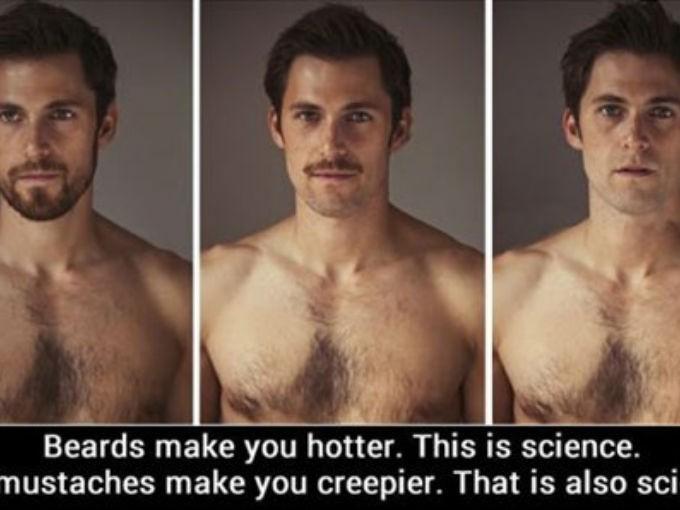 8. Hay cierto memes (cortesía de 9gag) que comprueban cómo la barba te hace ver más guapo. Mientras que el bigote, te hace lucir como un pervertido, loco, violador.