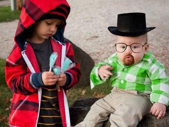 Jesse y Walter White de Breaking Bad