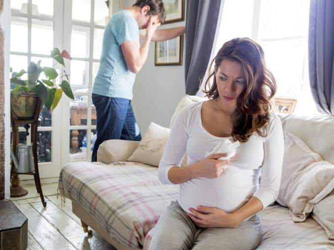 Las peleas y emociones negativas de la mamá afectan el desarrollo del bebé.