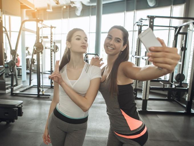Hacer ejercicio es muy importante, pero hay que aceptar que hay quienes van al gimnasio solo para tomarse la foto.