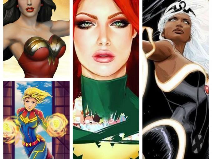 Estas son mis Superheroínas que nos inspiran. ¿Cuáles son las tuyas?  Fotos: Instagram