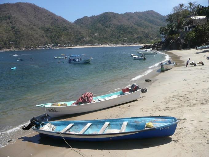 También puedes ir de excursión al pueblo pesquero Yelapa o, en verano, ver a las tortugas marinas que depositan sus huevos en la playa. Foto: Filckr