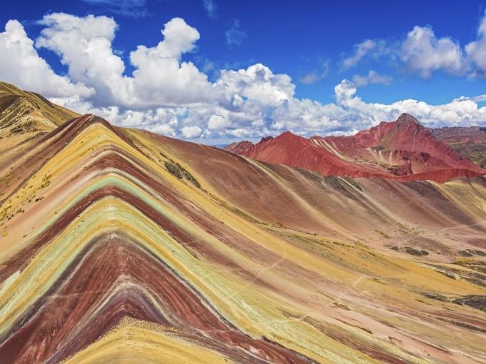 Sus colores se formaron por oxidación de los metales