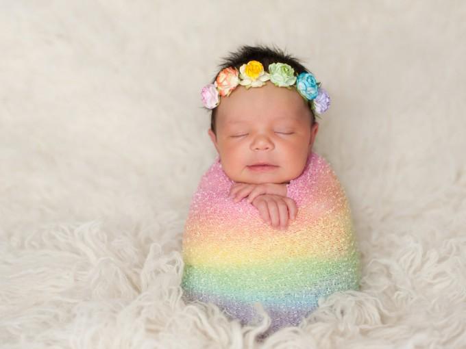 Yo también soy mamá de una bebé arcoíris.