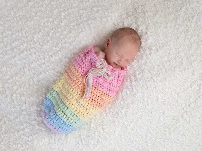 Estos bebés llegan después de la tragedia, justo como un arcoíris, después del cielo gris aparece un halo de color.