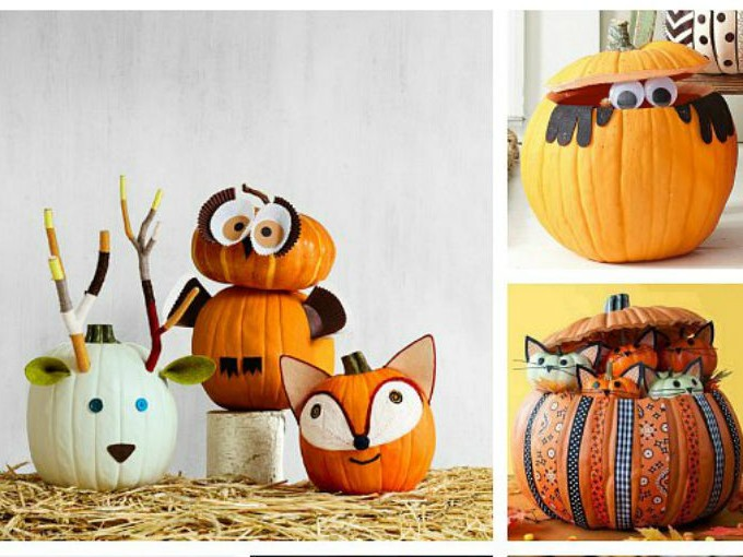 5 formas divertdas de decorar calabazas me lo djo lola for Como decorar una calabaza original