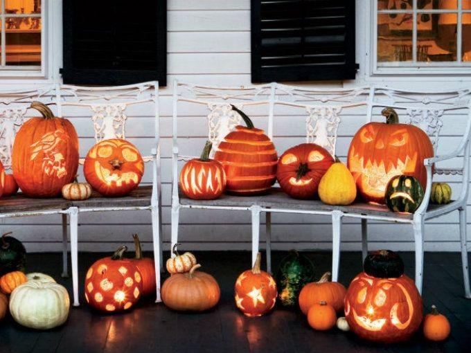 5 ideas para decorar la casa en halloween con calabazas for Puertas decoradas halloween calabaza