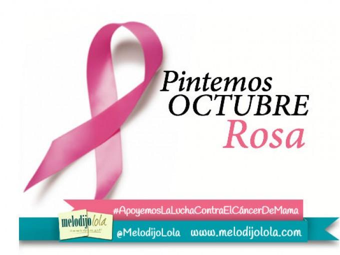 Pintemos Octubre de rosa