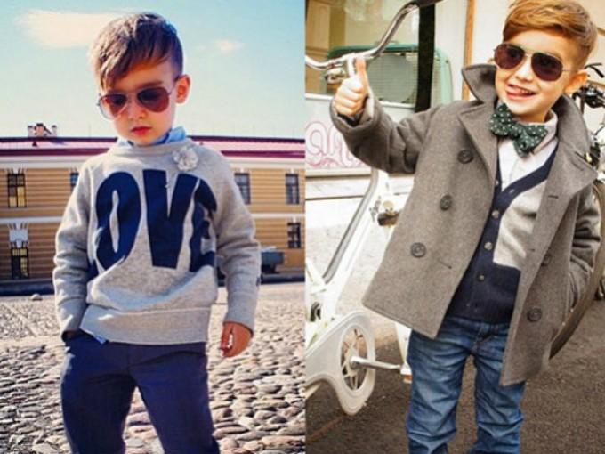 Mis hijos les encanta poner moda