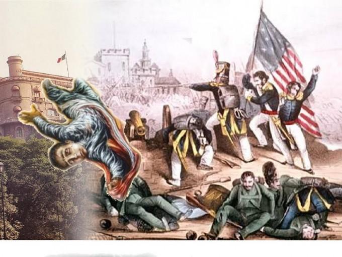 La historia fue exagerada. El icónico episodio en el que uno de ellos se tira con la bandera, fue en realidad que fue abatido. Foto: flickr