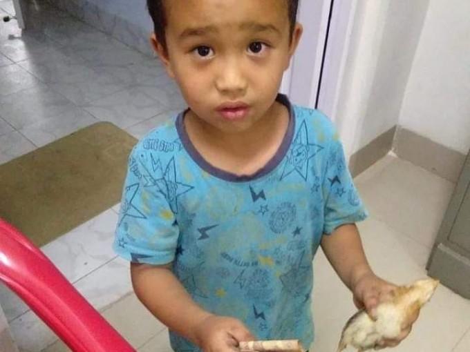 Niño de 6 años lleva al hospital a un pollo al que atropelló accidentalmente y ofrece ahorros para salvarlo