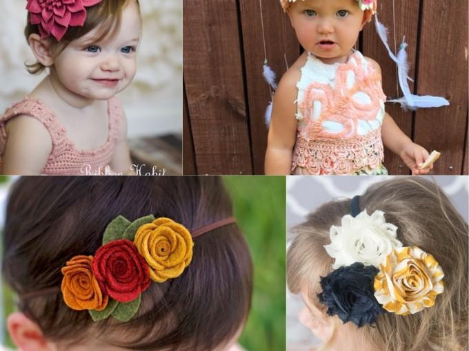 84cf4ddae Diademas de flores para niñas
