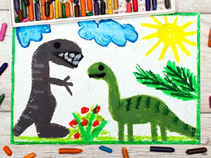 De los Intereses Intenso, el gusto por los dinosaurios es el que más ayuda a su desarrollo cognitivo.