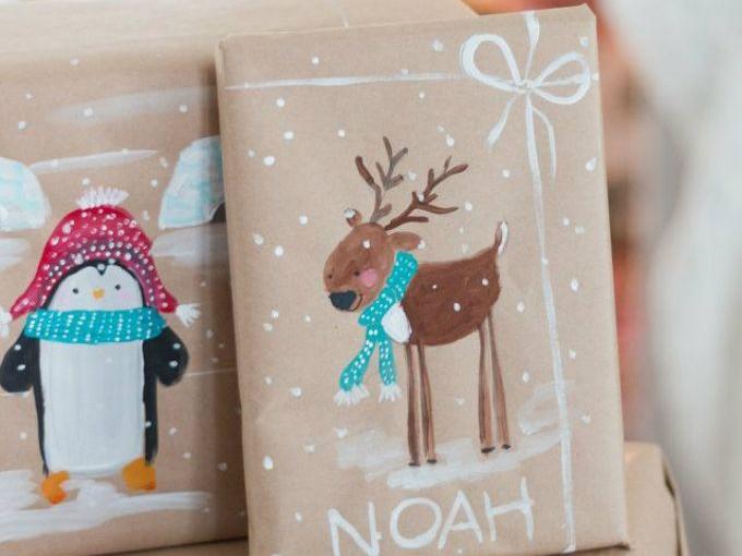 Diy envolturas originales de navidad me lo dijo lola for Envolturas para regalos