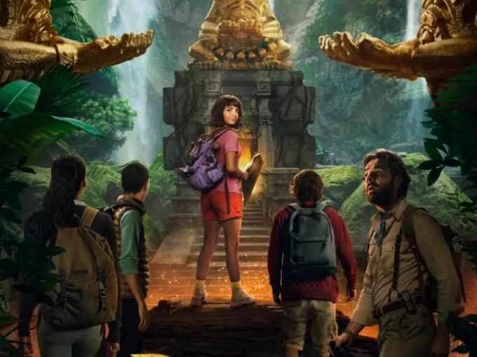Revelan primer póster de Dora, la exploradora en Live Action Foto: Paramount Pictures